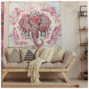 Boho Elephant Wall Tapestry